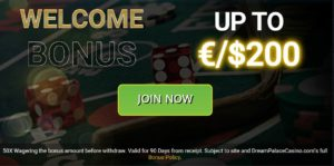 Join Dream Palace Casino Now