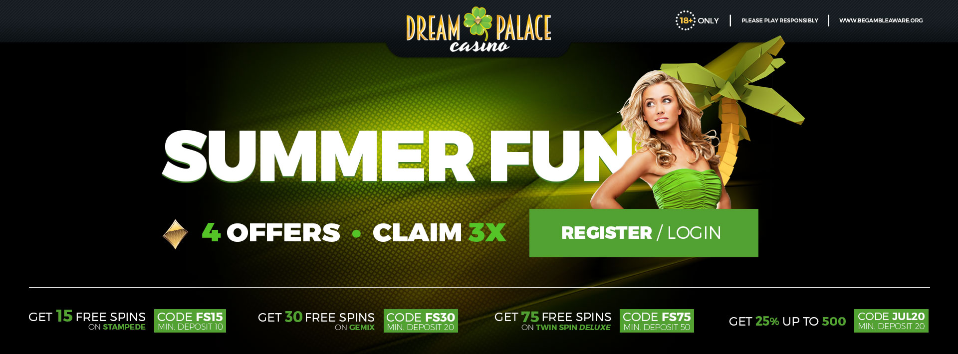 Summer Fun - Free Spins & Bonuses