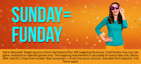 Funday Bonuses for You